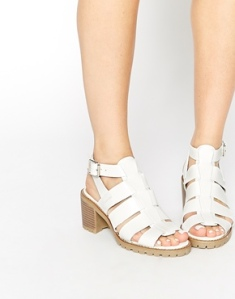 Truffle Collection Zada Gladiator Heeled Sandals, ASOS