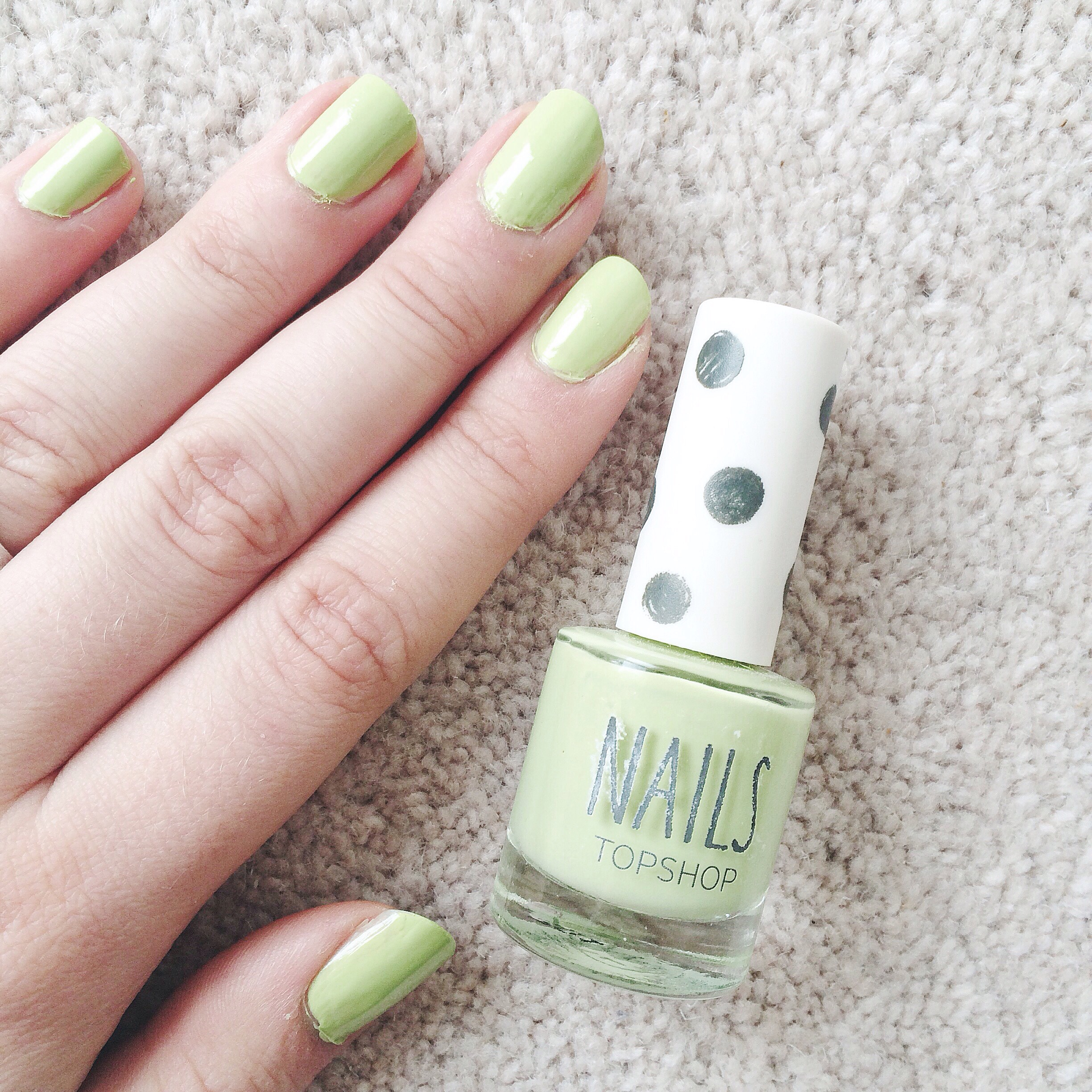 The Alternative Pastel Nail Polish: Topshop Venus Fly Trap – oh ...