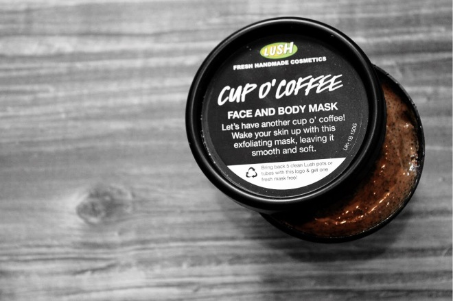 LUSH Cosmetics 'Cup O' Coffee' Exfoliating Face and Body Mask