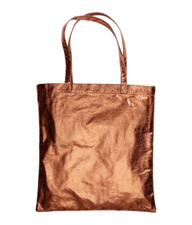 H&M Bronze Shopper