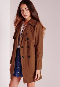 Missguided tan jacket