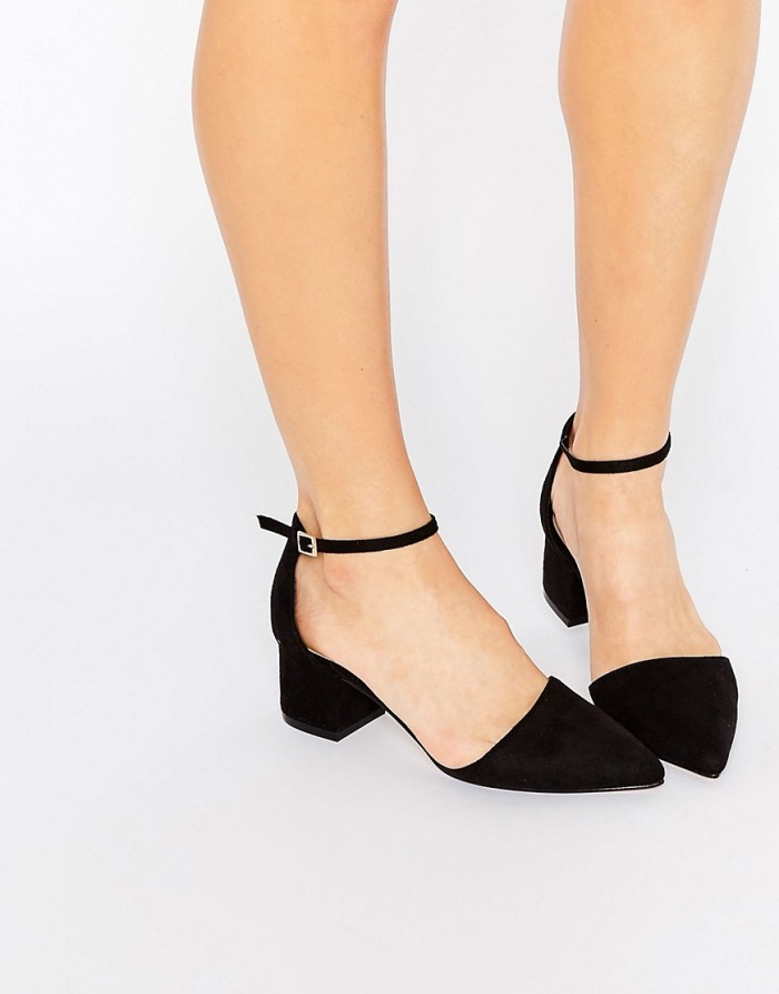 New Look Pointed Toe Black Heel